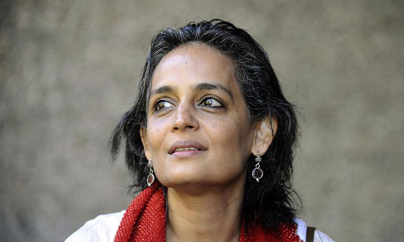 Renowned Indian writer Arundhati Roy. — File photo