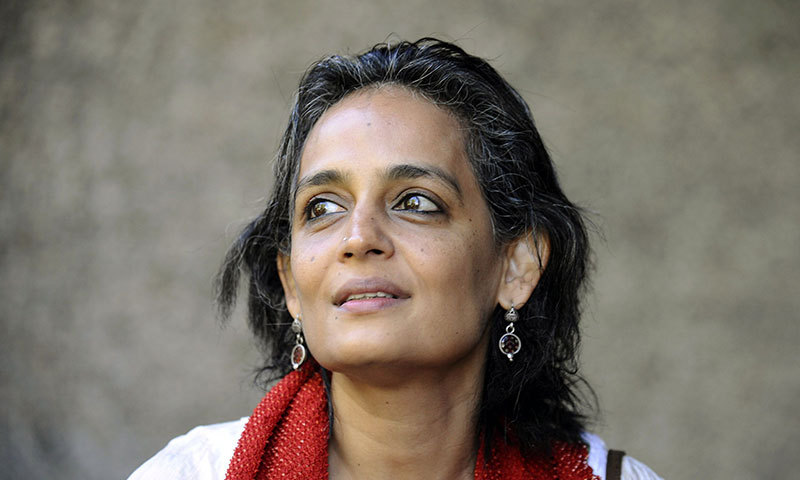 Renowned Indian writer Arundhati Roy. — File photo