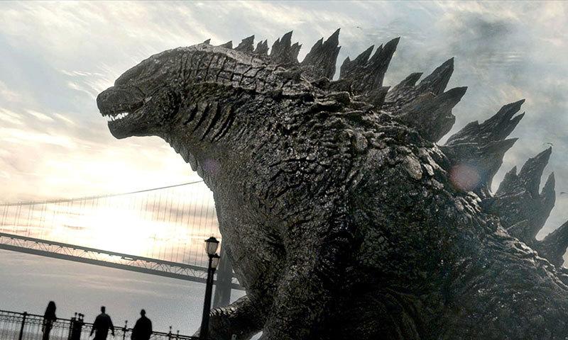 """A scene from movie, """"Godzilla"""". – Courtesy Photo"""