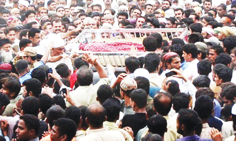 Had collected various warring gangs under the umbrella of the People's Amn Committee. Many in Lyari mourned his death