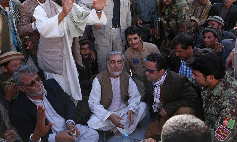 Afghan presidential candidate Abdullah Abdullah. -AFP Photo