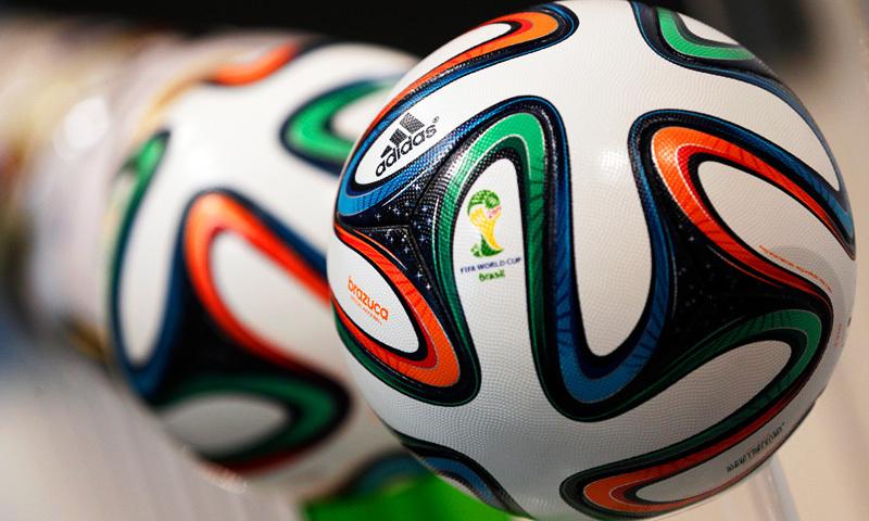 فیفا ورلڈ کپ کا آغاز کل سے برازیل میں ہونے والا ہے۔ فوٹو اے ایف پی