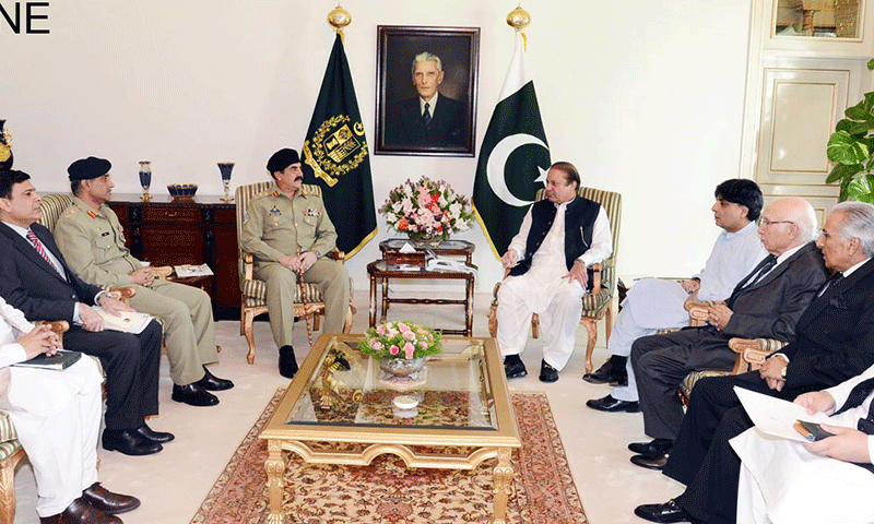 PM presented options for responding to Taliban attacks
