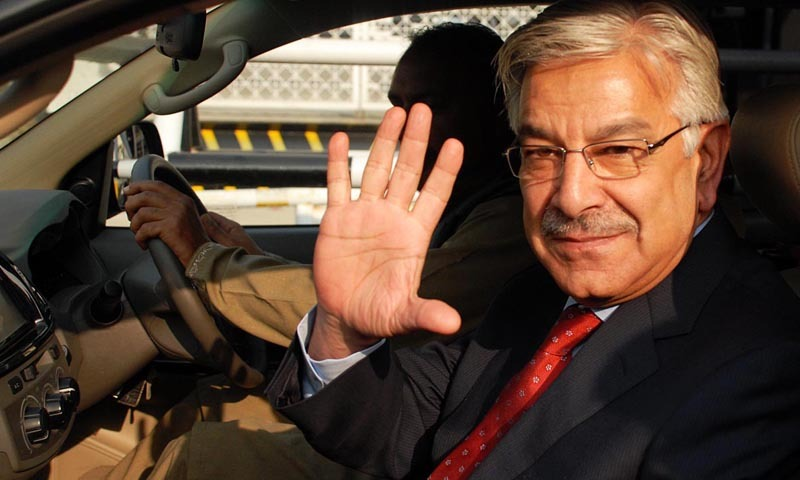 Federal Minister for Defence Khawaja Muhammad Asif. – File Photo