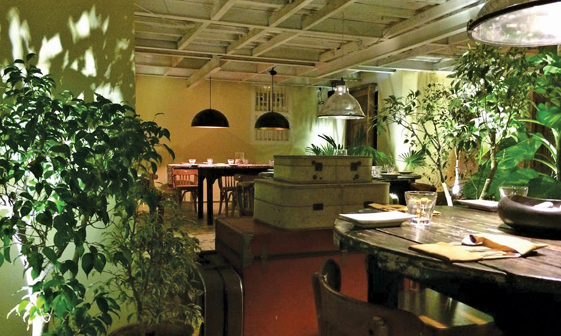 Elegant eateries are watering holes for the elite where they go to see and be seen