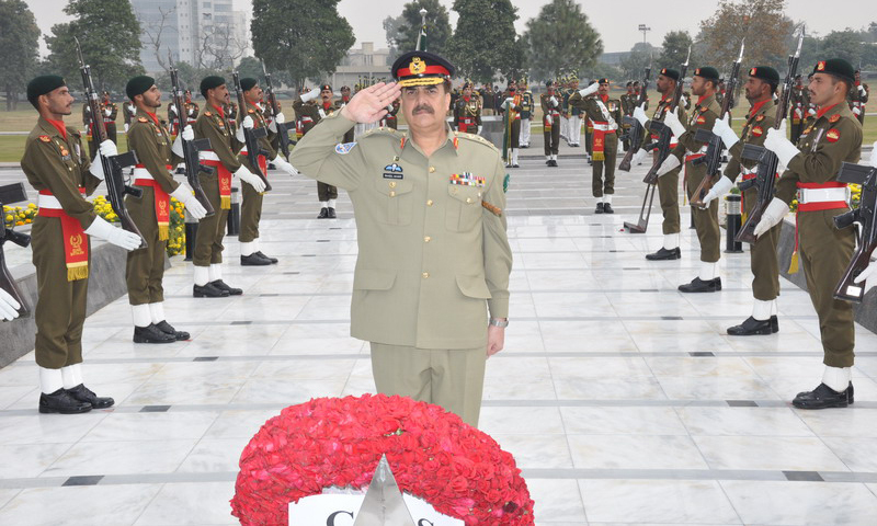 Army chief Gen Raheel Sharif. – File Photo
