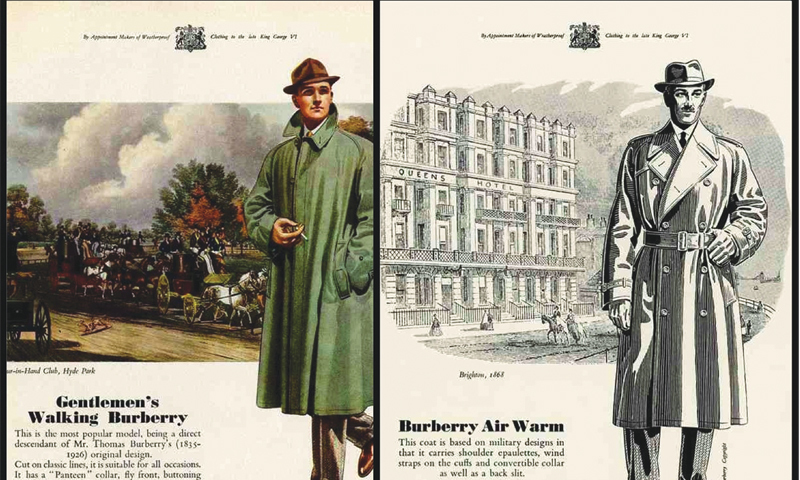 The trench coat created by Burberry, first worn by soldiers during World War I, is still a best-seller for the brand.