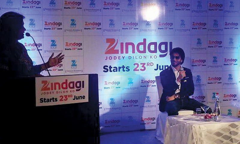 Imran Abbas at the launch event