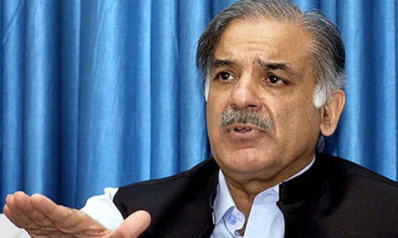 Shahbaz Sharif. — File photo