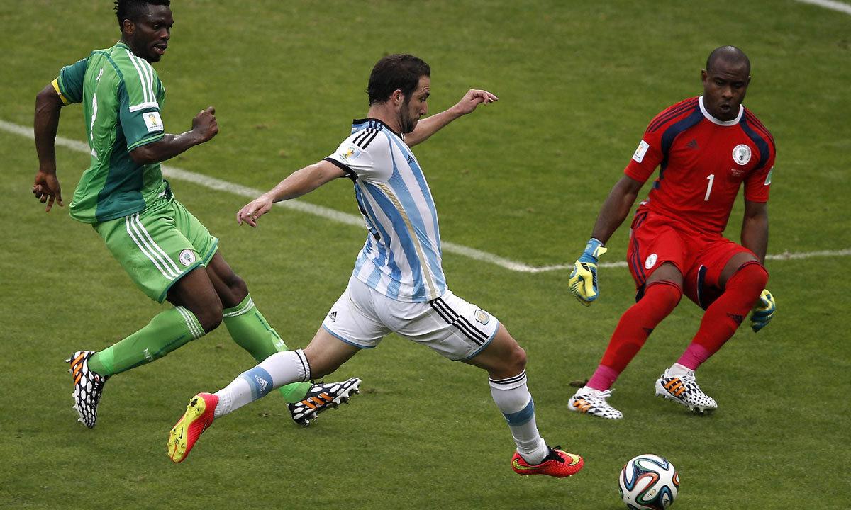 FIFA World Cup 2014 Messi strikes again Multimedia DAWN