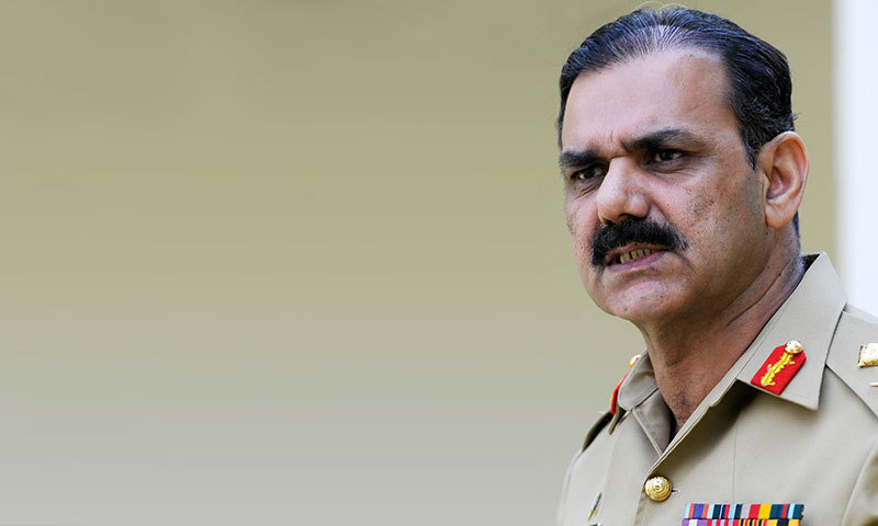 DG ISPR Maj Gen Asim Bajwa says troops have surrounded North Waziristan, claims terrorists did not know operation was coming.—File photo