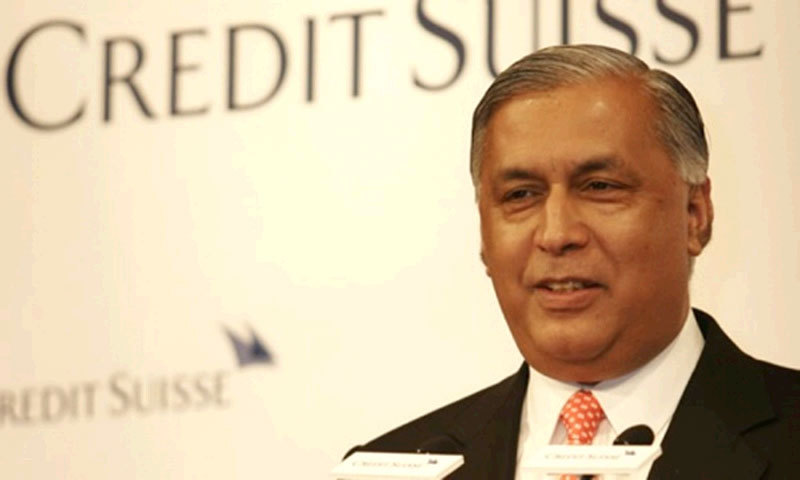 Former Pakistani Prime Minister Shaukat Aziz.—File photo