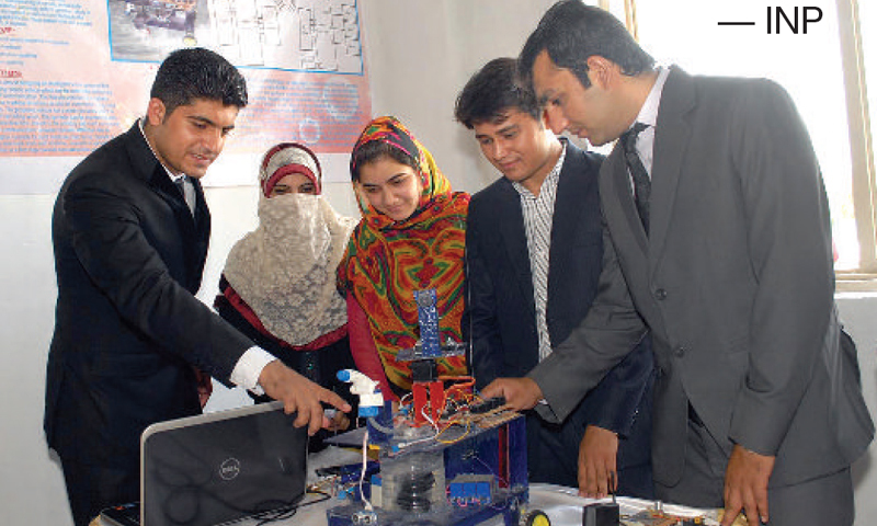 Varsity organises open house exhibition
