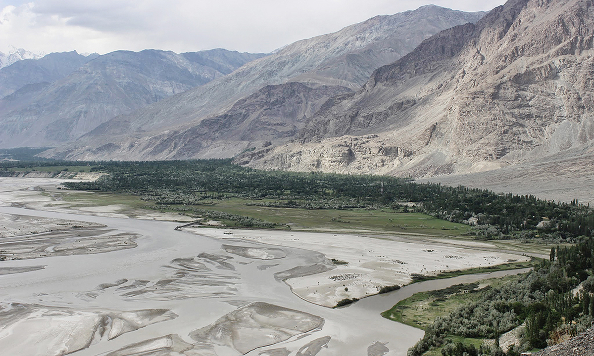 Shigar valley is very dusty. In the summer months (June, July and August) light cotton clothing is always best. —Photo by Zofeen Ebrahim