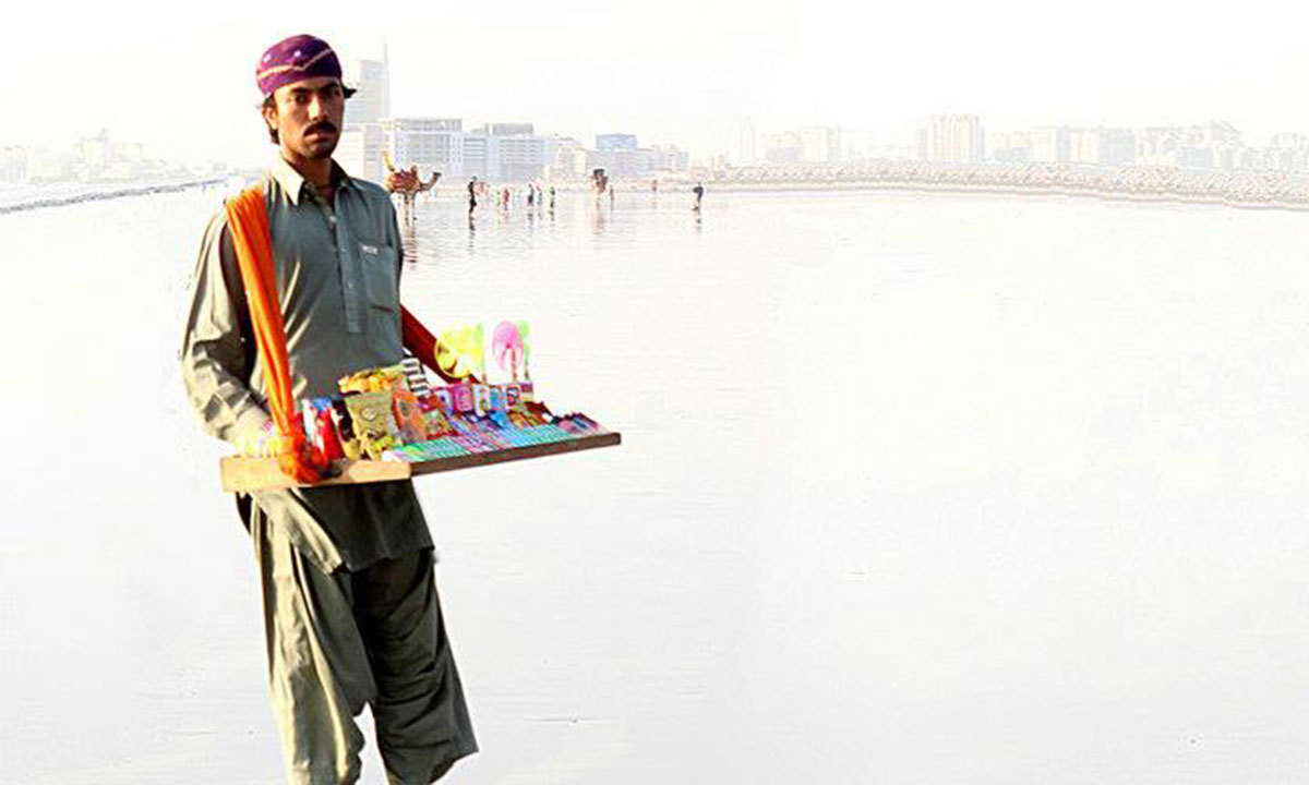 Sea view, Karachi. – Photo by Muhammad Haseeb Halai