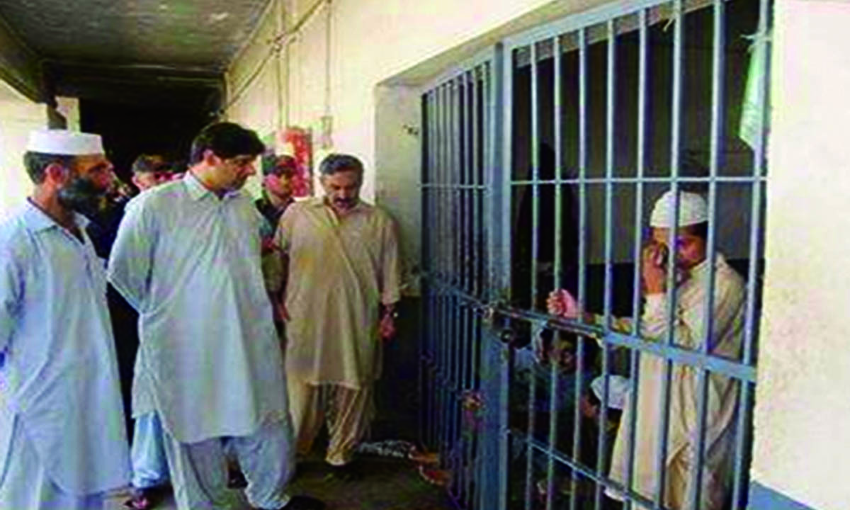 A child languishes in prison for a crime he didn't commit as the deputy political agent enquires about his health