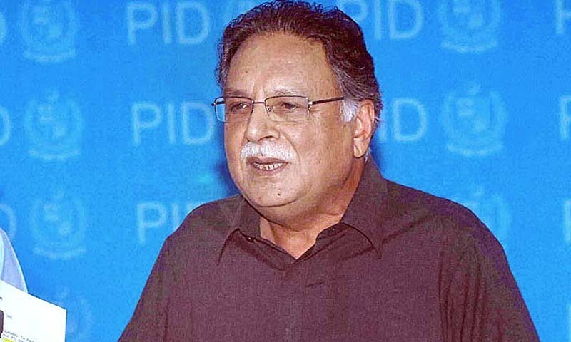 Federal Minister for Information & Broadcasting and National Heritage Senator Pervez Rasheed. — Photo by APP