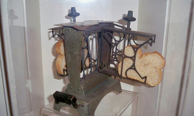 The Mabutu Gene Electric Generator that was recently rediscovered in Islamabad. It can also toast bread.