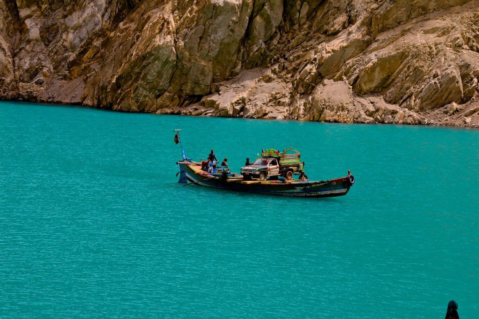 Attabad Lake, Hunza, Gilgit Baltistan. Photo by ADifferentAgenda
