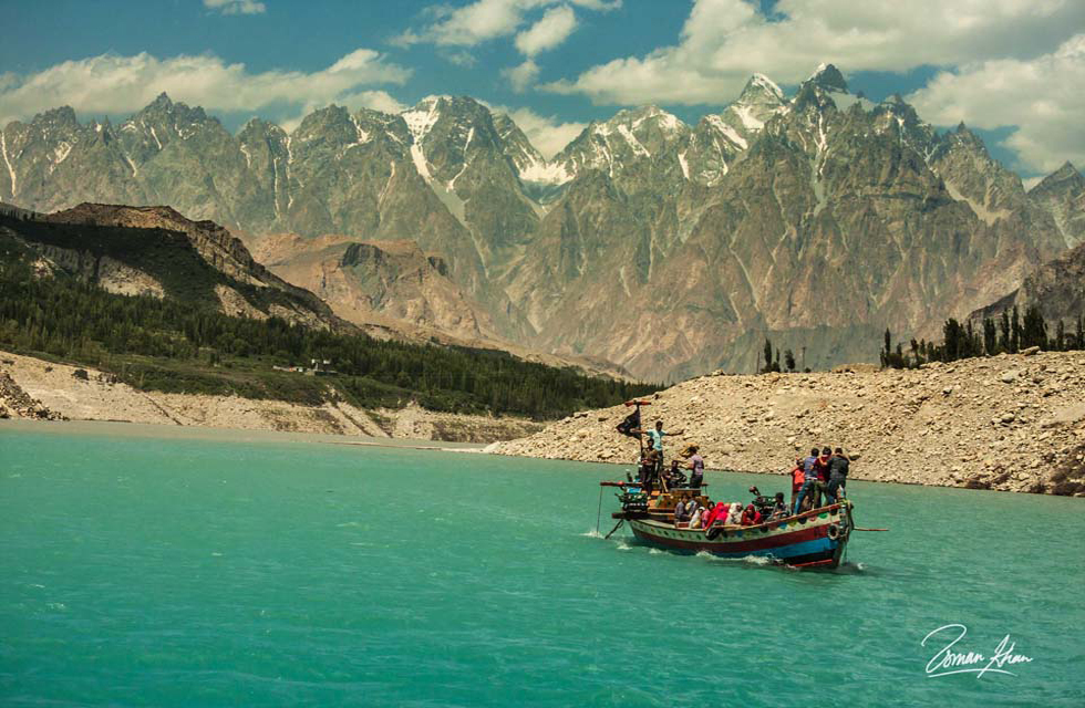 Attabad Lake, Hunza Valley. Photo by Usman Khan