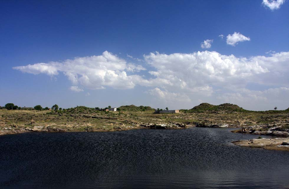 Jahlar Lake, Soon Sakesar Valley, Punjab. Photo by Salman Rashid