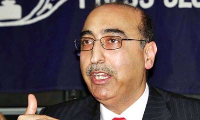 Pakistan's High Commissioner Abdul Basit.—File photo