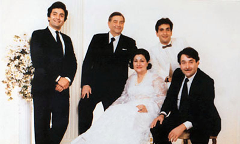 A snap that shows  A snap that shows 'Kapoor family'.— File photo