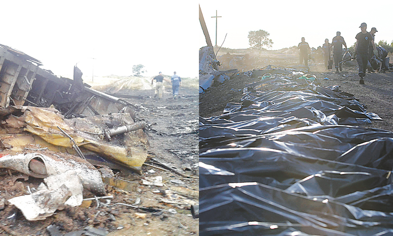 Flight MH17 victims' bodies were looted  — or maybe not