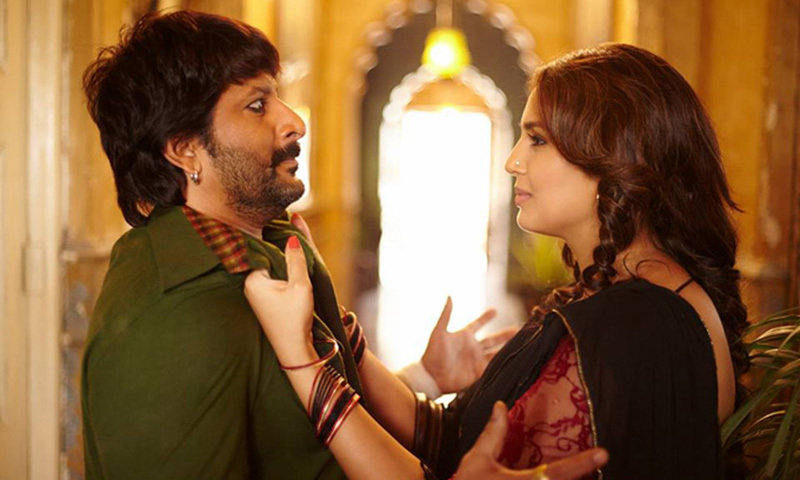 The move came after a frontal nudity scene in recent film Koyelaanchal and an intimate scene between Arshad Warsi and Huma Qureshi in Dedh Ishqiya. — Screengrab