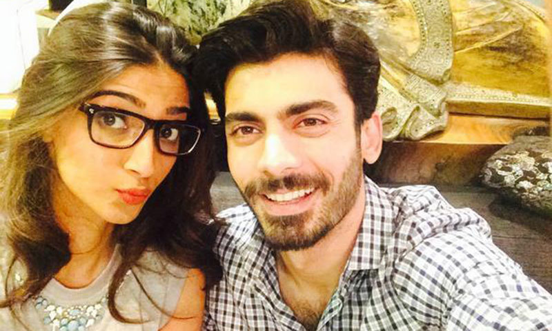 Selfies and red carpet moments: Khoobsurat duo Fawad-Sonam strike a pose