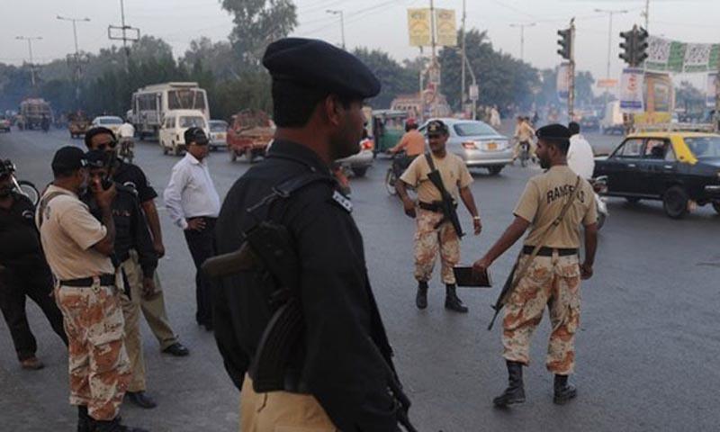 Police and Rangers on Karachi.—AF/File photo