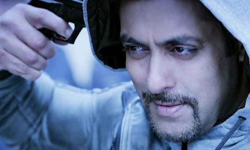 Salman Khan as Devil in 'Kick'.