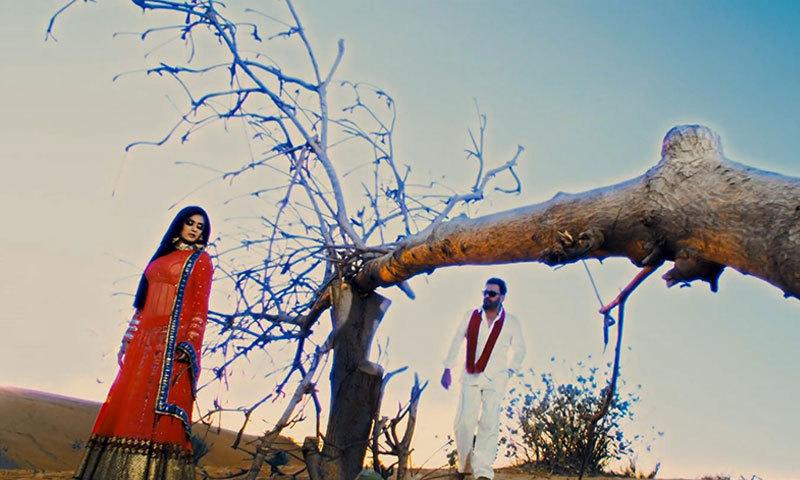 """A scene from movie, """"Saltanat"""". – Courtesy Photo"""