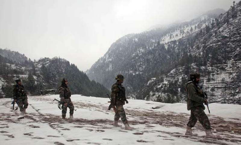 This is the first incident of an exchange of fire between Indian and Pakistani security forces in Astore sector of LoC.— File photo