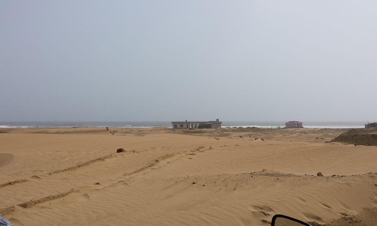 The Kund Malir beach in the Uthal tehsil of Balochistan. — Photo by Ali Umair Jaffery