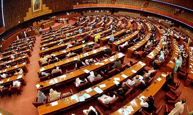 National Assembly's Deputy Speaker, Murtaza Abbasi, asked Minister for Science and Technology Zahid Hamid and PPP MNA Nawab Yousuf Talpur to discuss the terms of reference (TORs) and the names of the member to finalise the committee e to probe the incidents of violence against minorities across the country.  — File photo