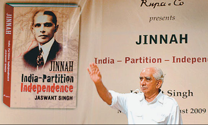 Jaswant Singh, author of Jinnah: India-Partition-Independence, had also been censured for praising the Quaid-e-Azam as a secular man. — File photo