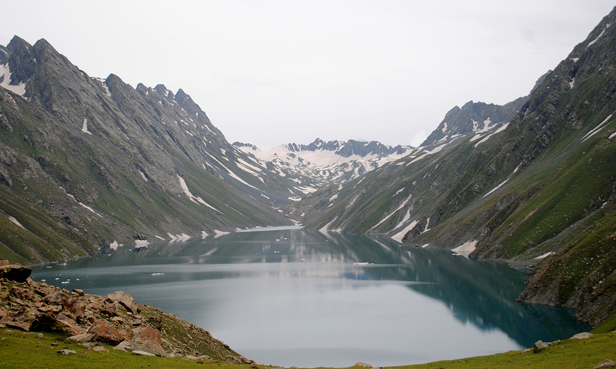 The lake is located in a valley that is surrounded by peaks on all sides with elevation of over 4000 metres above sea level. — Haziq Qadri