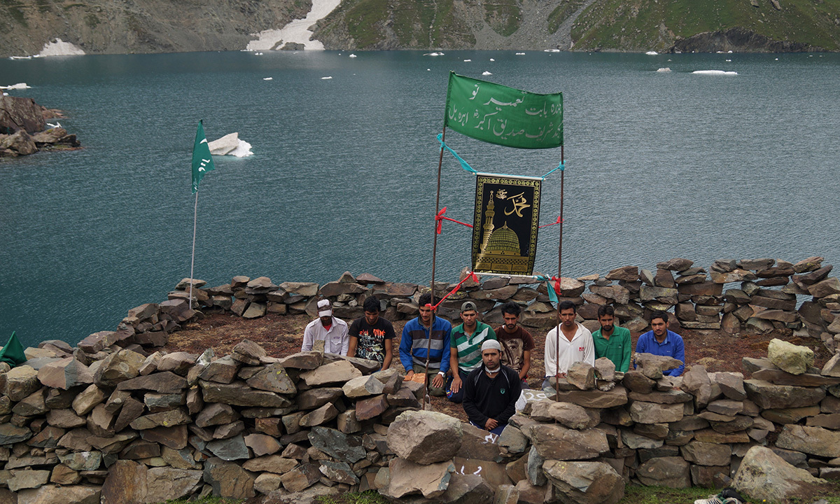 According to environmental experts, Kashmir's glaciers are melting at a fast rate and if Kounsarnag was developed as a pilgrimage spot then the construction in the area would be disastrous for the ecosystem in Kashmir. — Haziq Qadri