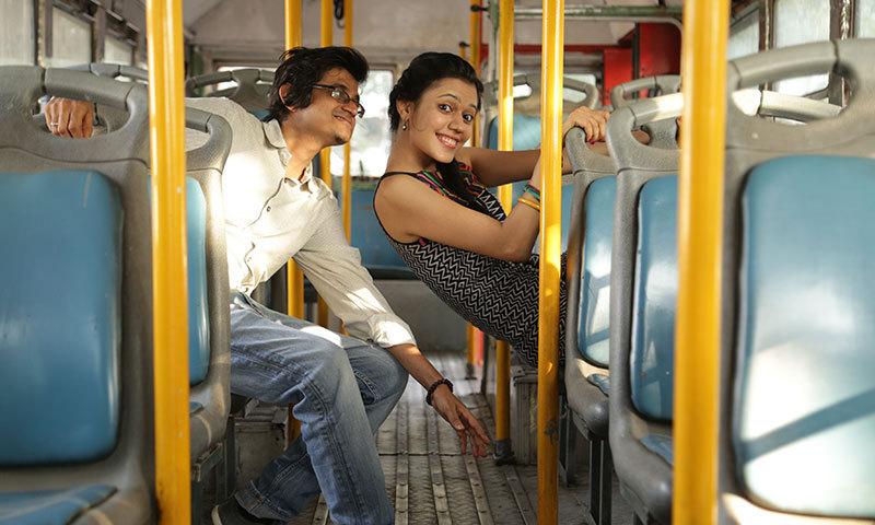 """Kartik Shah and Nirali Kartik. – Photo courtesy """"Maati Baani"""" team"""
