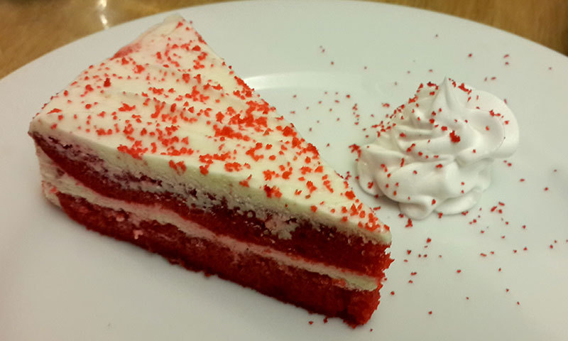 Red Velvet Cake – Photo by author.