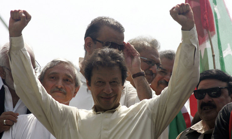 — Photo of Imran Khan during