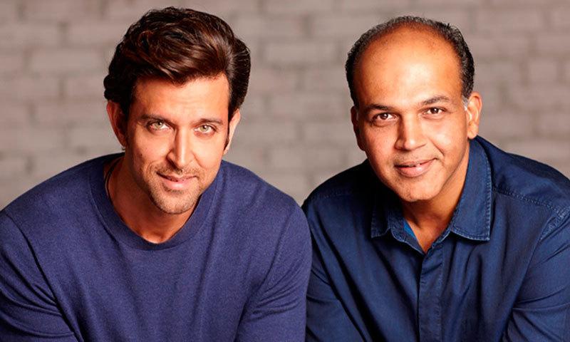 Hrithik Roshan (L)  and Ashutosh Gowariker to collaborate on 'Mohenjo Daro'. – Photo courtesy boxofficeindia.co.in