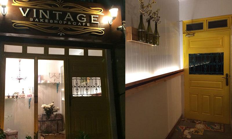 Vintage Bakeshop & Café –Photo by author.