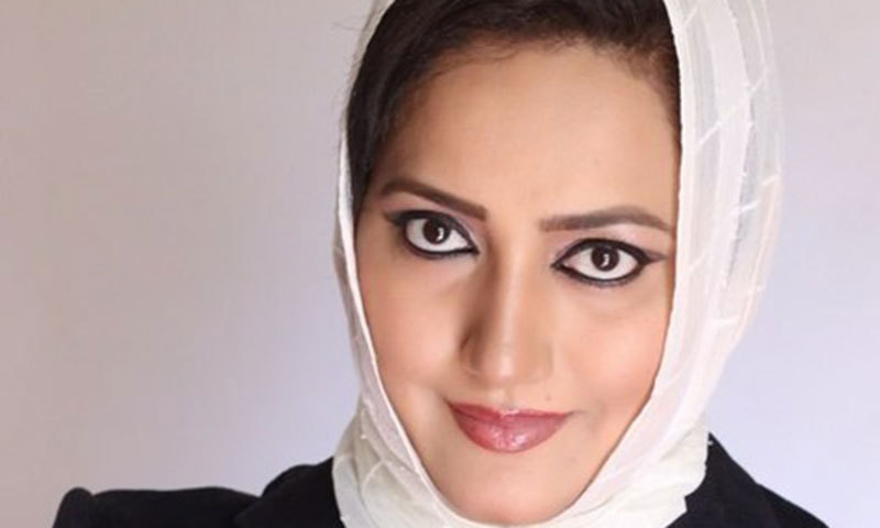 Pakistan's first female war correspondent and TV host Asma Shirazi has won one of the most prestigious awards in journalism. – File Photo
