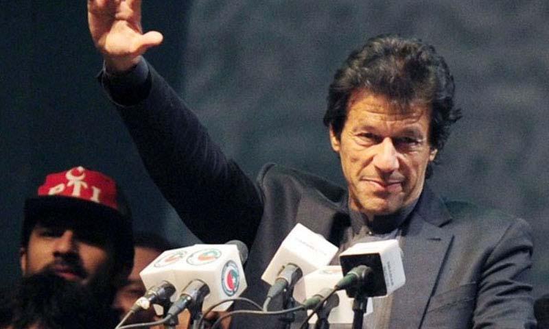 پاکستان تحریک انصاف (پی ٹی آئی) کے چیئرمین عمران خان—۔فوٹو اے ایف پی