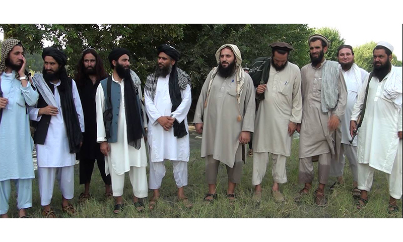 Photo of key commanders of TTP Jamatul Ahrar released today.