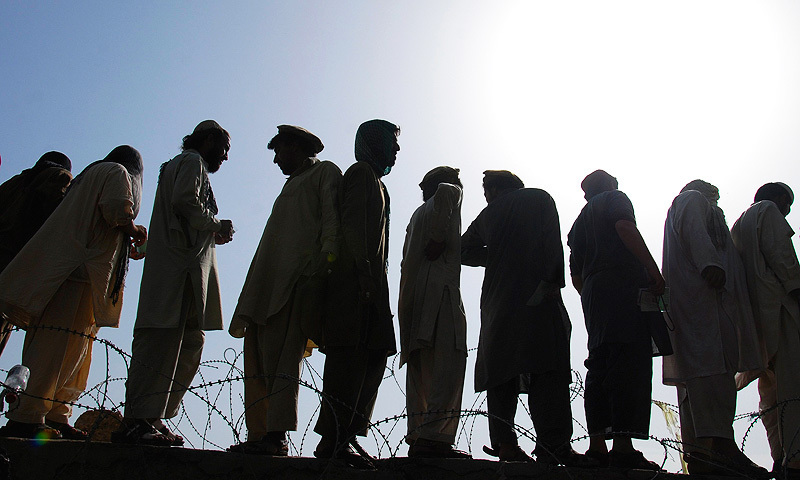 The IDPs from North Waziristan face issues of insecurity, lack of shelter and financial assistance owing to problems in their addresses and computerised identity cards. — File photo