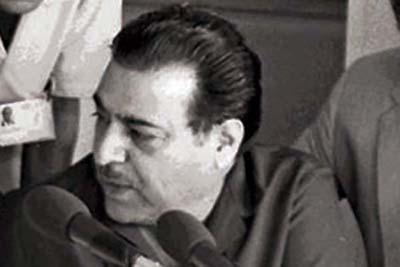 The enterprising Munir Hussain.