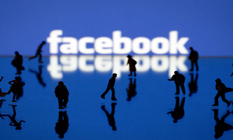 The fake world of Facebook